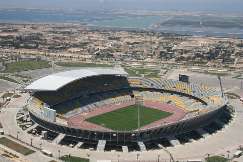 Borg El Arab Stadium, Ministry of Interior