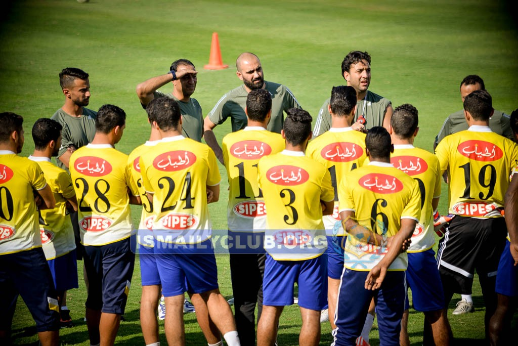 Mido in his first Ismaily training