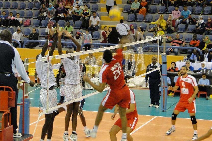 Egypt Kenya Volleyball