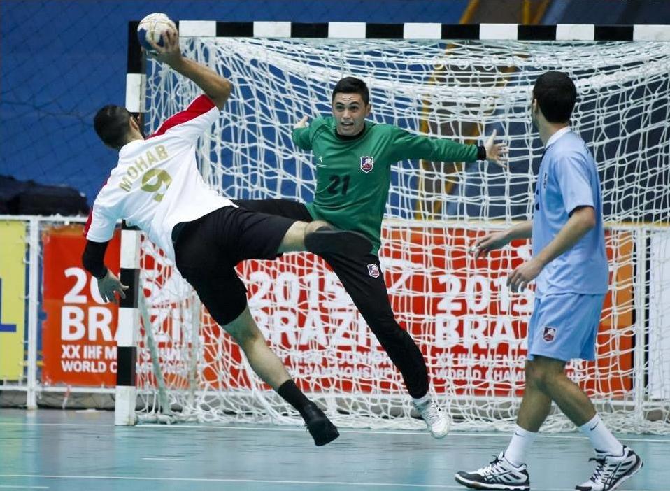 Egypt Uruguay Junior Handball 2015