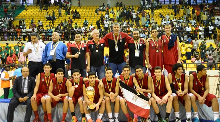 Egypt U16 Basketball