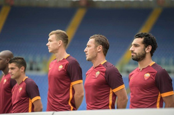 Photo: AS Roma Official Facebook Page