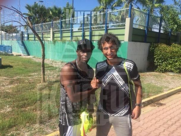 Amr Warda and Henri Camara