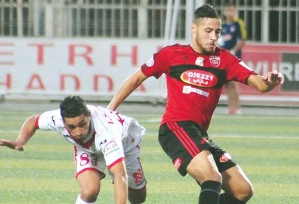 USM Alger forward Youcef Belaïli has been suspended for two years