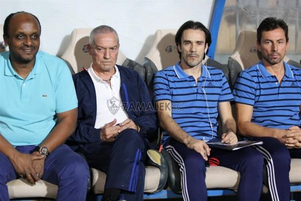 Zamalek Ismail Youssef Ferreira Staff