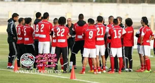 Egyptian Football Association website