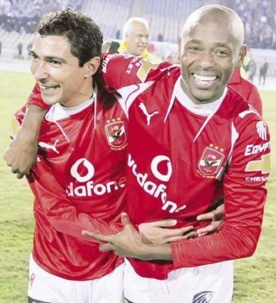 Gilberto with Barakat