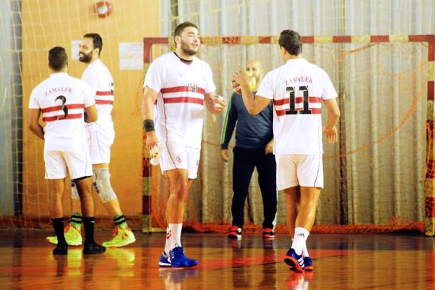 Zamalek League Handball Victory