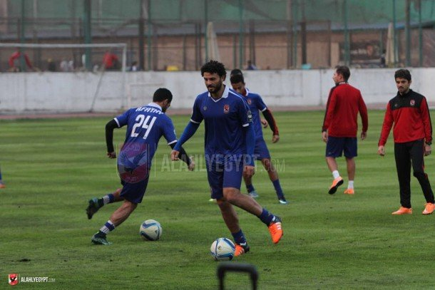 Al Ahly fine Hossam Ghaly and Ahmed Fathi