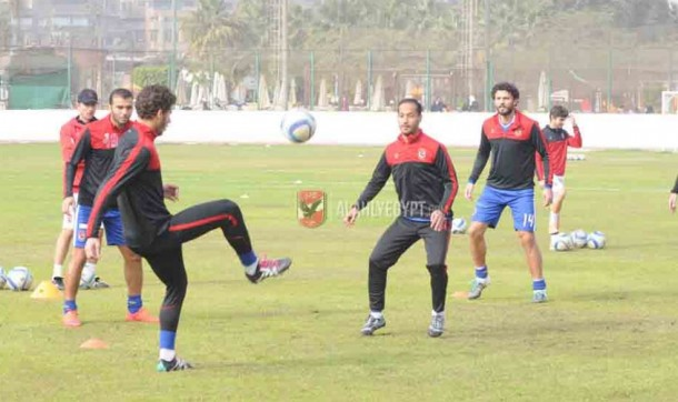 Ahly training squad Peseiro face Aswan