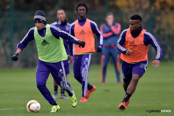 Trezeguet training