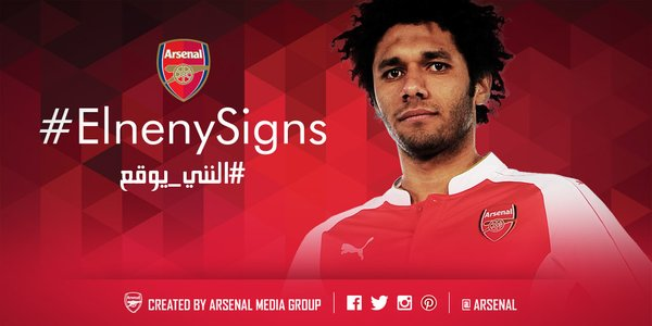 Mohamed Elneny Arsenal