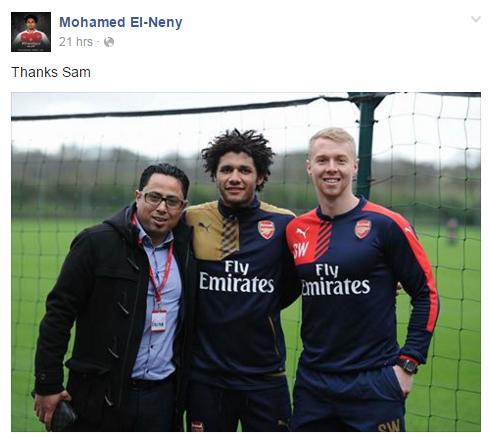 Elneny's transfer Fitness