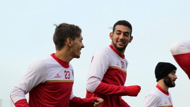Ahmed Hassan Koka training SC Braga