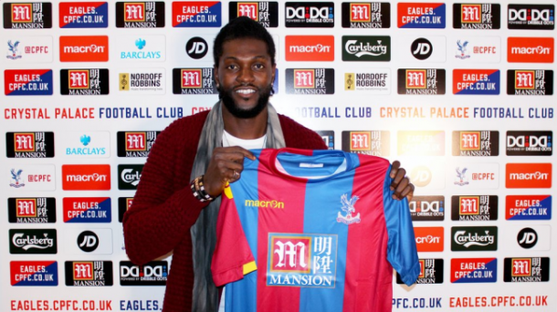 Emmanuel Adebayor joining Palace