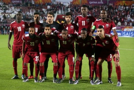 Qatar's U-23 team at the 2016 AFC Championship