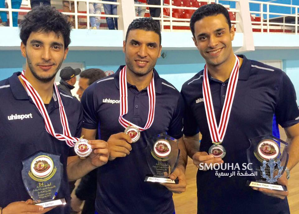 Smouha Win Silver At Arab Volleyball Clubs Championship