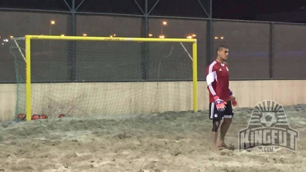 Abdel-Wahed El-Sayed snubbed from Beach AFCON Egypt squad