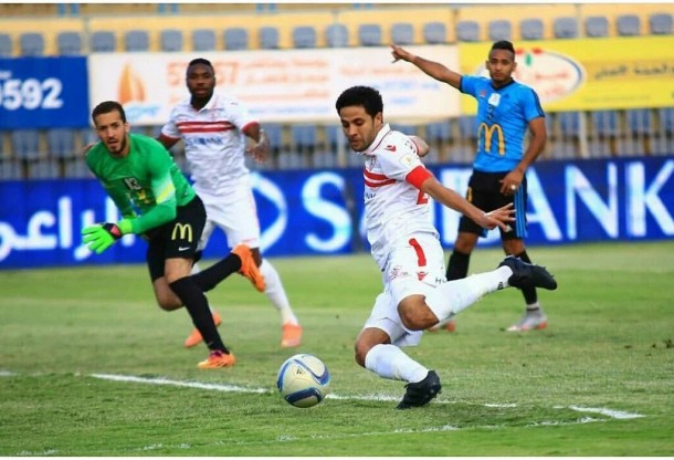 Mohamed Ibrahim returns to Zamalek squad against Arab Contractors