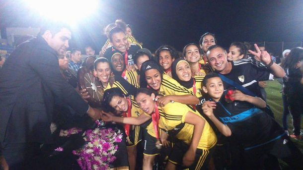 Wadi Degla women's league title