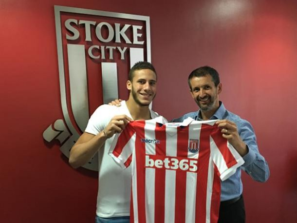 Ramadan Sobhi signs new five-year contract with Stoke City