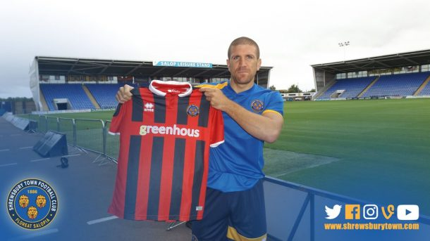 Adam El-Abd signs for Shrewsbury on free transfer