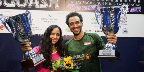 Nouran Gohar Ramy Ashour Hong Kong Open