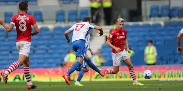 Sam Morsy features in Barnsley loss against Brighton