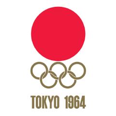 1964 Olympics Logo