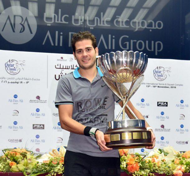 Photo: Qatar Classic Squash
