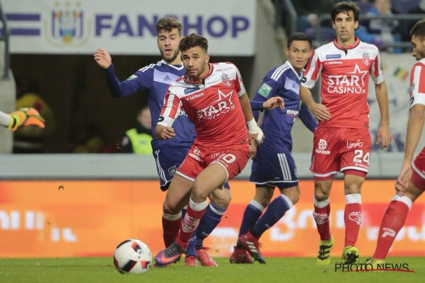 Mahmoud Trezeguet returns from injury for Mouscron