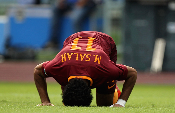 Mohamed Salah Player of the Month AS Roma