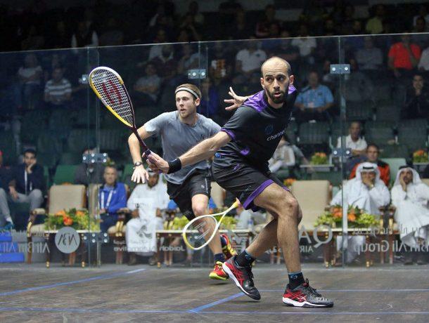 El-Shorbagy brothers and Abdel Gawad reach Qatar classic quarter-finals