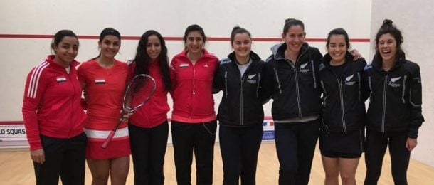 SQUASH: Egypt beat New Zealand in Women's World Team Championships