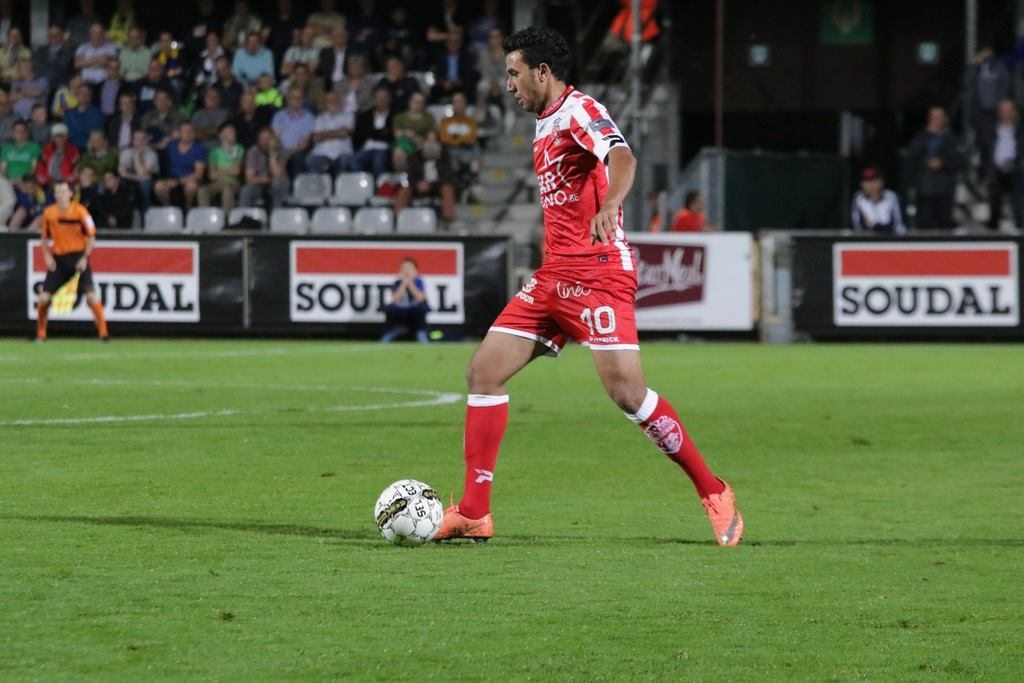 Trezeguet Royal Excel Mouscron Anderlecht, mouscron eliminated