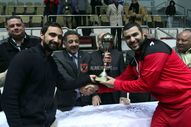 Al Ahly basketball League champions 2016