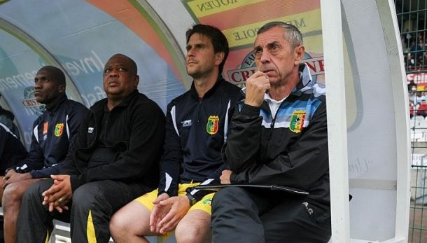 Mali coach Alain Giresse