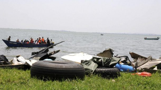 Uganda boat drown in lake albert