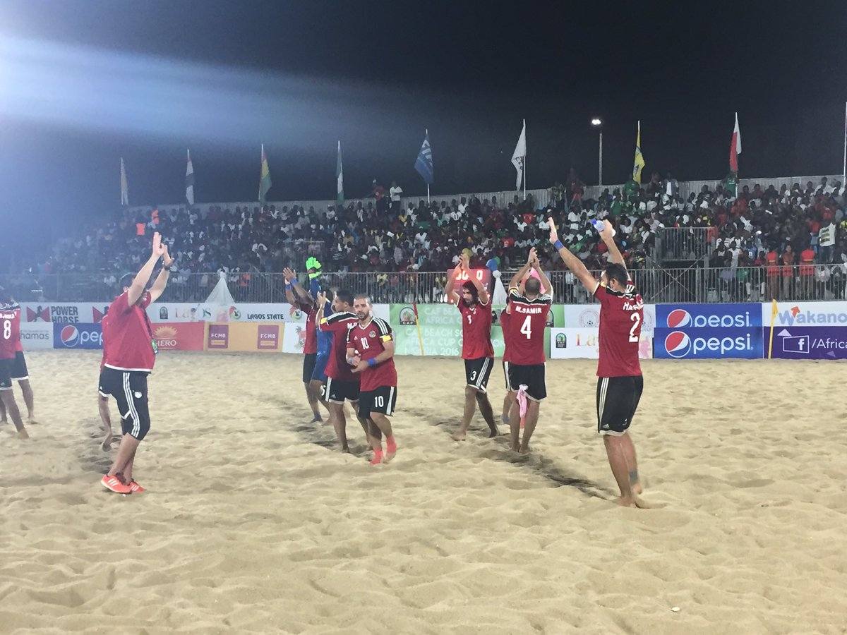 Egypt Beach Soccer Team