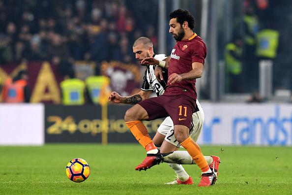 Mohamed Salah AS Roma Juventus