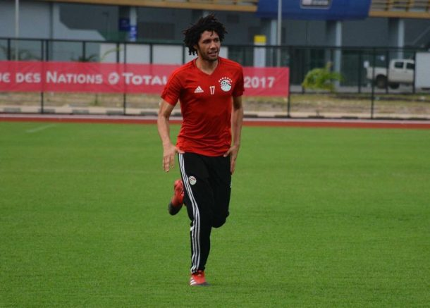 Mohamed Elneny is available for AFCON final
