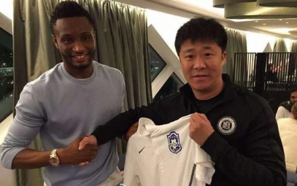 John Obi Mikel joins Chinese Super League Side Tianjin TEDA