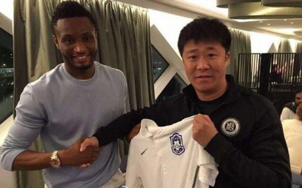 John Obi Mikel joins Chinese Super League Side Tianjin TEDA