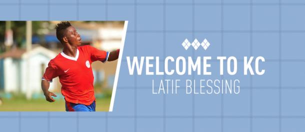 Ghana POTY Latif Blessing joins Sporting Kansas City