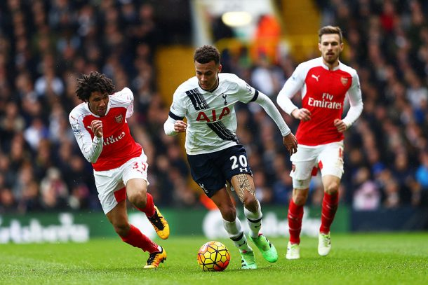 Elneny left out of Arsenal's squad as the Gunners lose to Tottenham