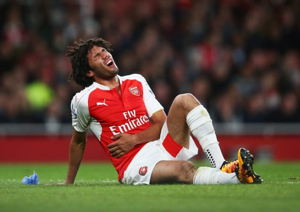 Mohamed Elneny starts recovering from his injury
