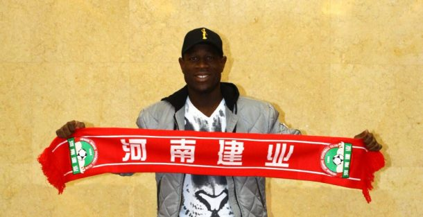 AFCON MVP Christian Bassogog moves to China