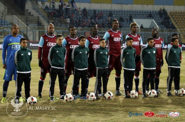 Ifeanyi Ubah: Al Masry scored through a controversial penalty