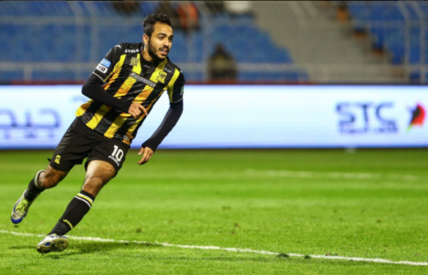 Mahmoud Kahraba fined for actions during Ettifaq game