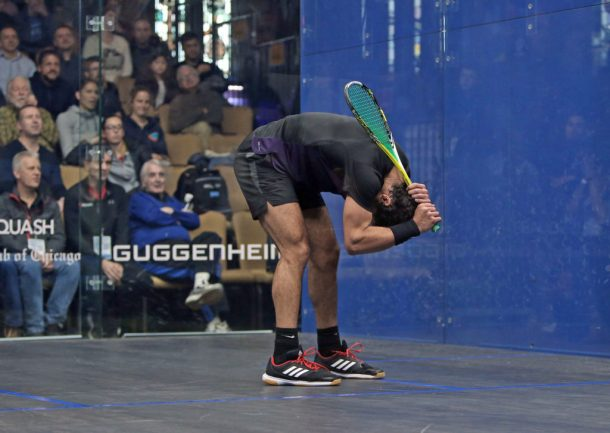 SQUASH: El-Shorbagy's brother to meet in Windy City quarter-finals